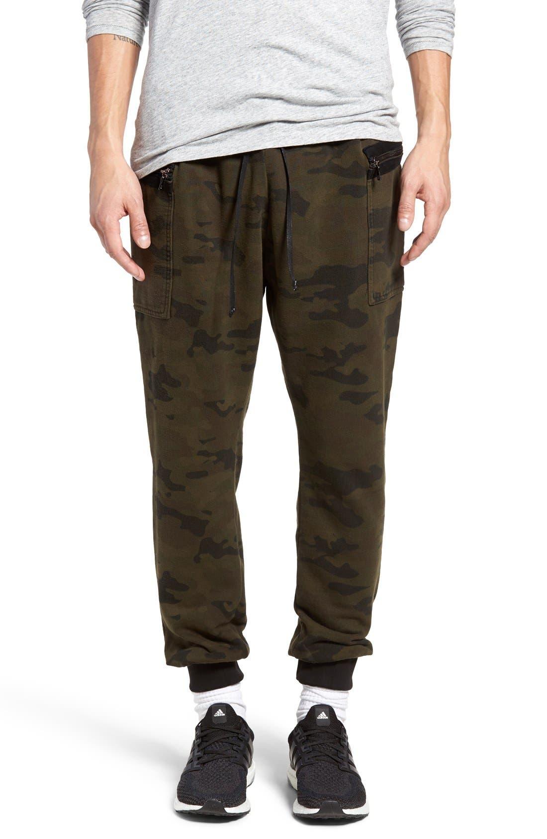 Hudson Jeans Flight Cargo Jogger Pants