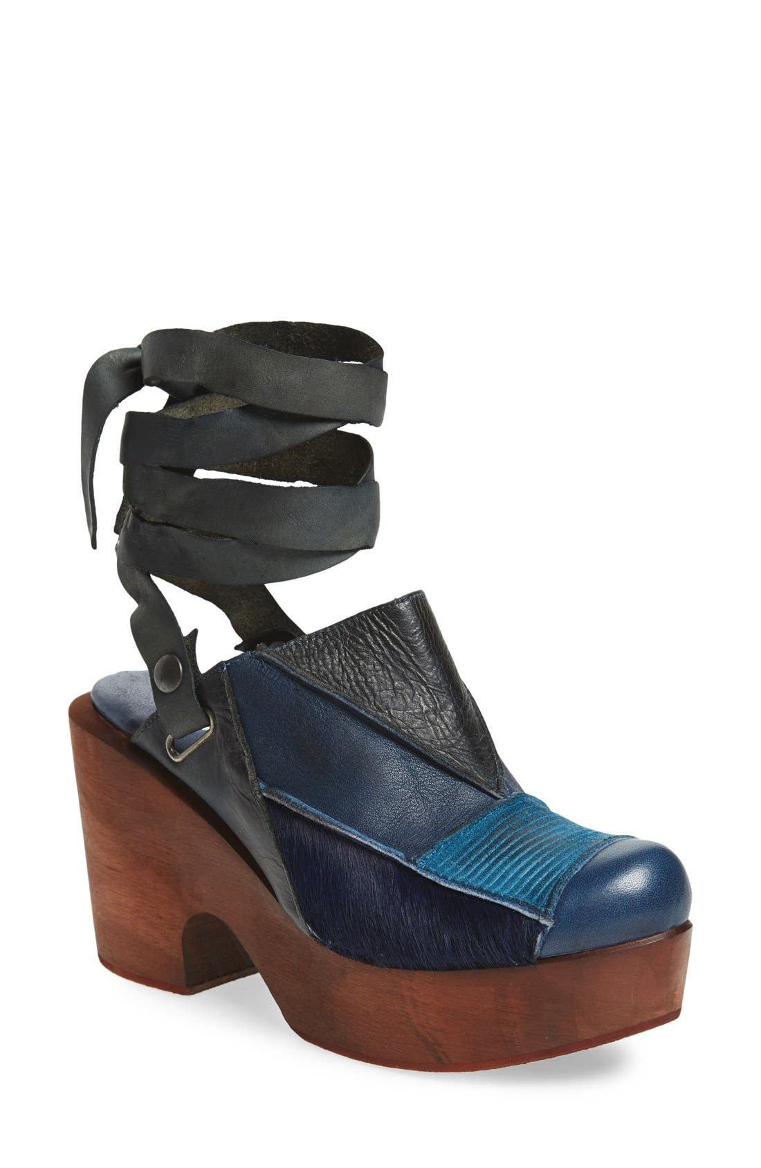 Main Image - Free People 'Into the Patchwork' Clog (Women)