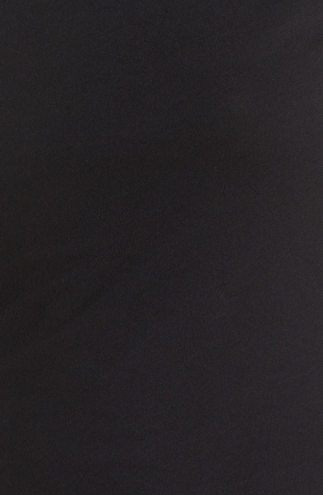 Alternate Image 5  - James Perse Turtleneck Midi Dress