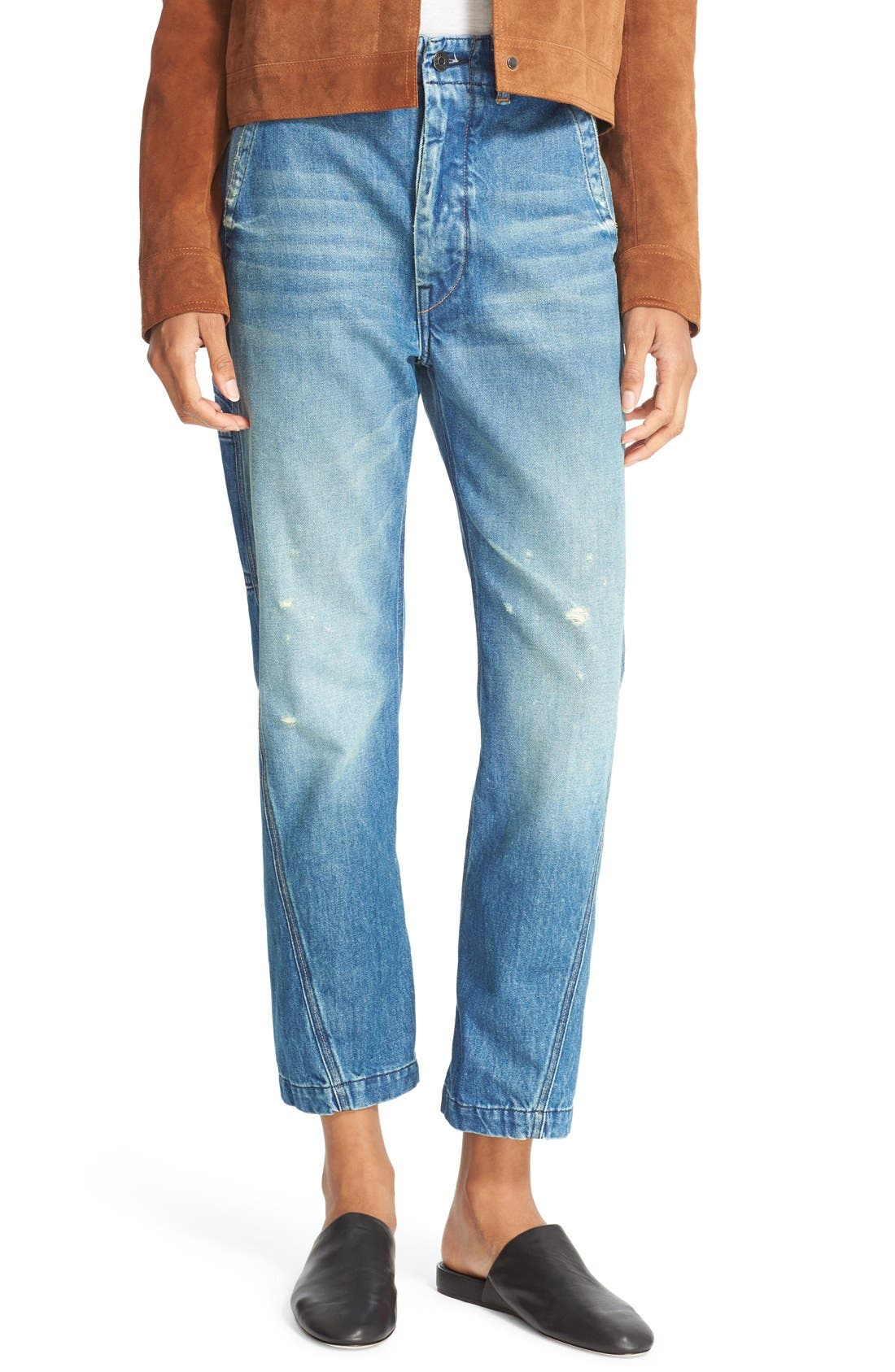 Alternate Image 1 Selected - Vince Slouch Carpenter Jeans (Heritage)