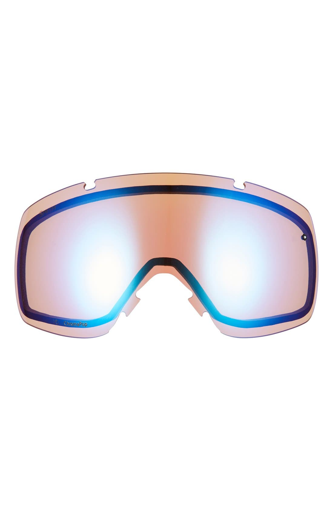 I/O 205mm Snow Goggles,                             Alternate thumbnail 2, color,                             Navy Scout