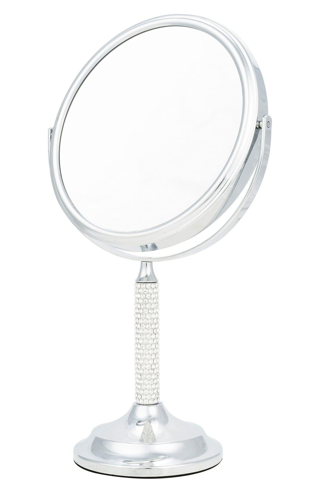 Danielle Creations Chrome Vanity Mirror