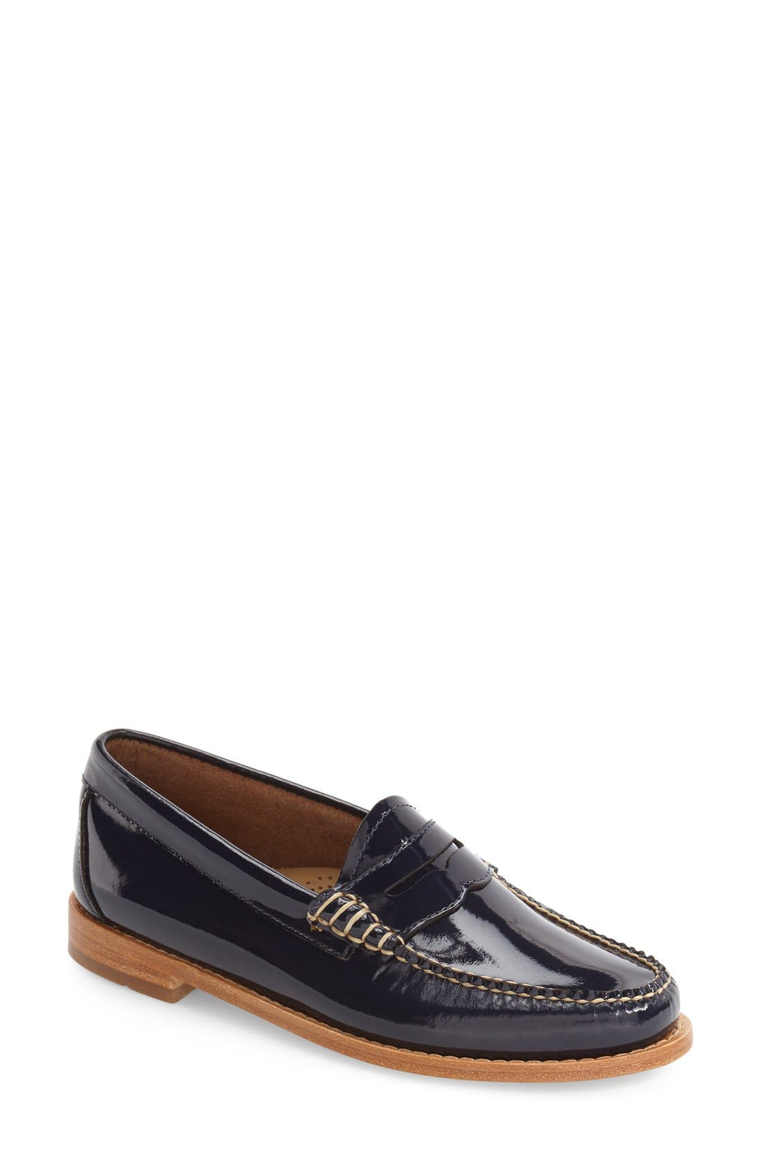Alternate Image 1 Selected - G.H. Bass & Co. 'Whitney' Loafer (Women)