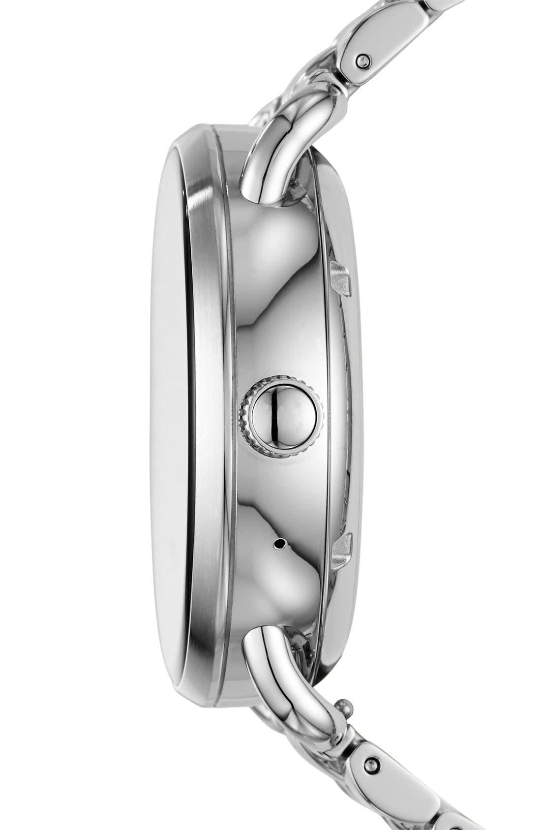 Alternate Image 3  - Fossil Q Wander Digital Smart Bracelet Watch, 45mm