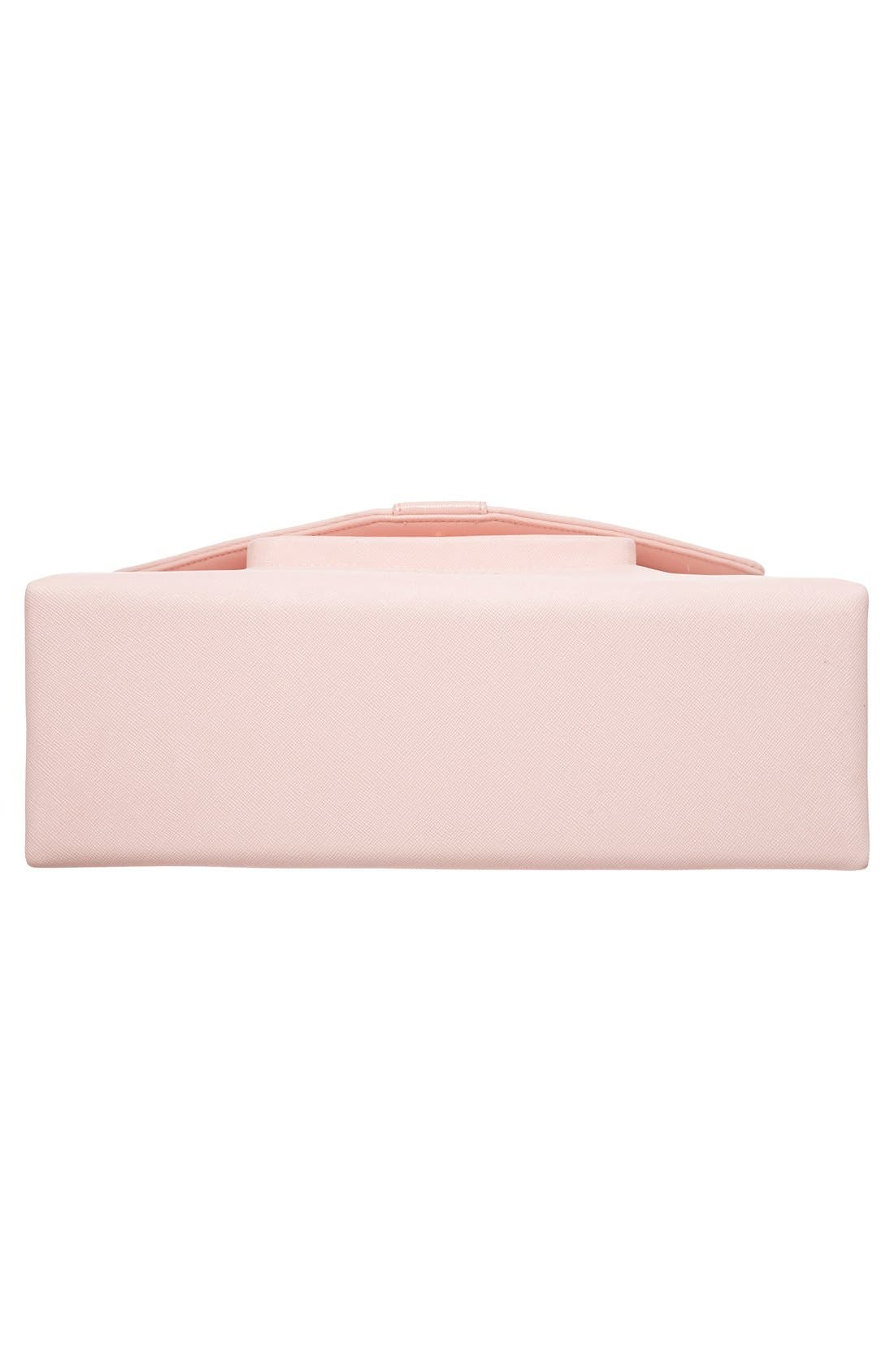 Alternate Image 5  - Ted Baker London Faux Leather Satchel (Nordstrom Exclusive)