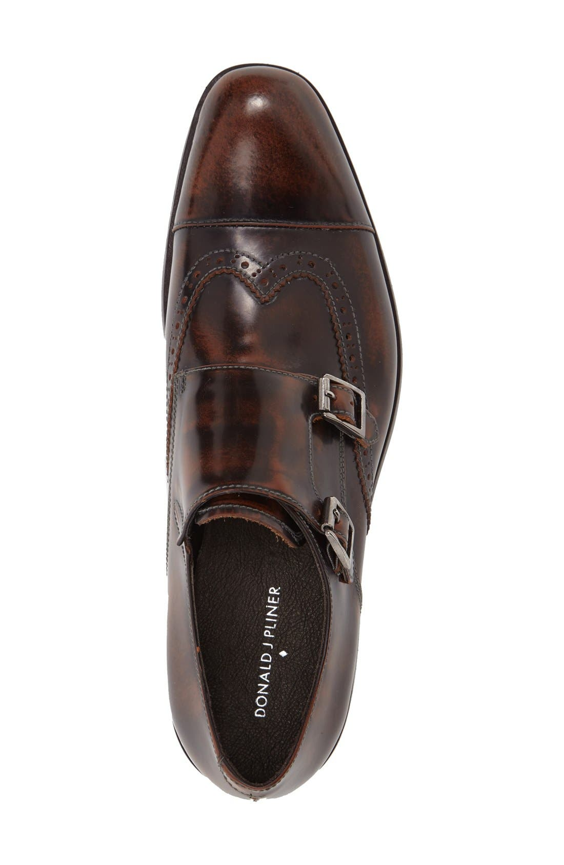 Alternate Image 3  - Donald J Pliner 'Ziggy' Double Monk Strap Shoe (Men)
