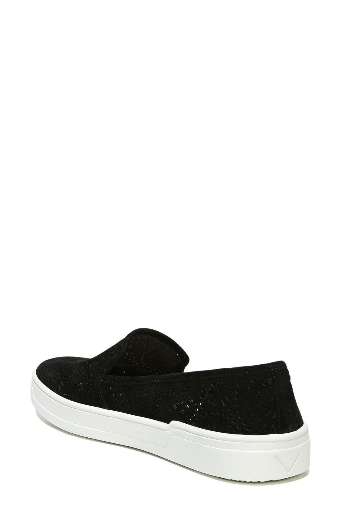 Alternate Image 2  - Via Spiga Gavra Perforated Slip-On Sneaker (Women)