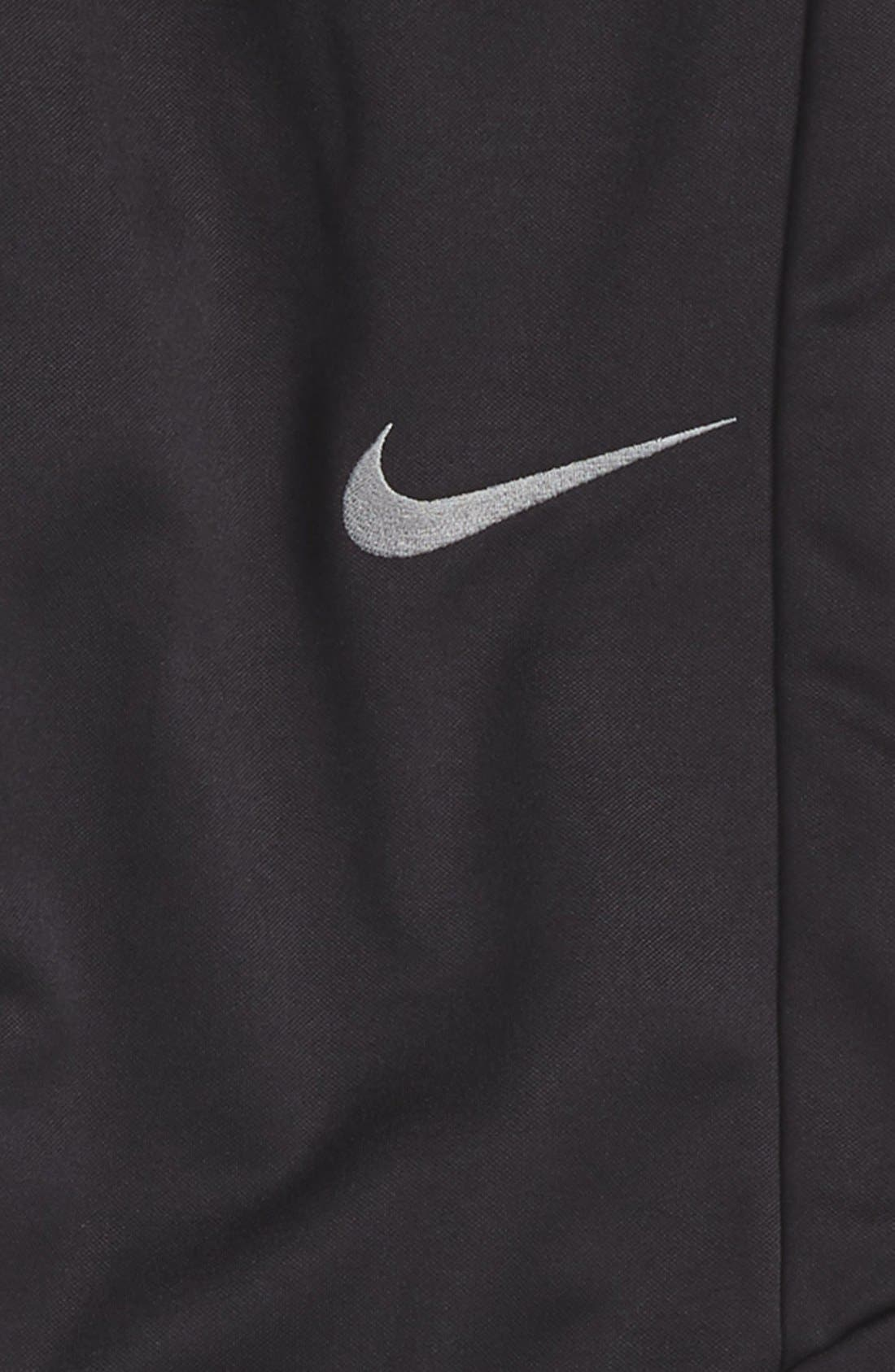 Therma-FIT Tapered Fleece Pants,                             Alternate thumbnail 2, color,                             Black/ Dark Steel Grey