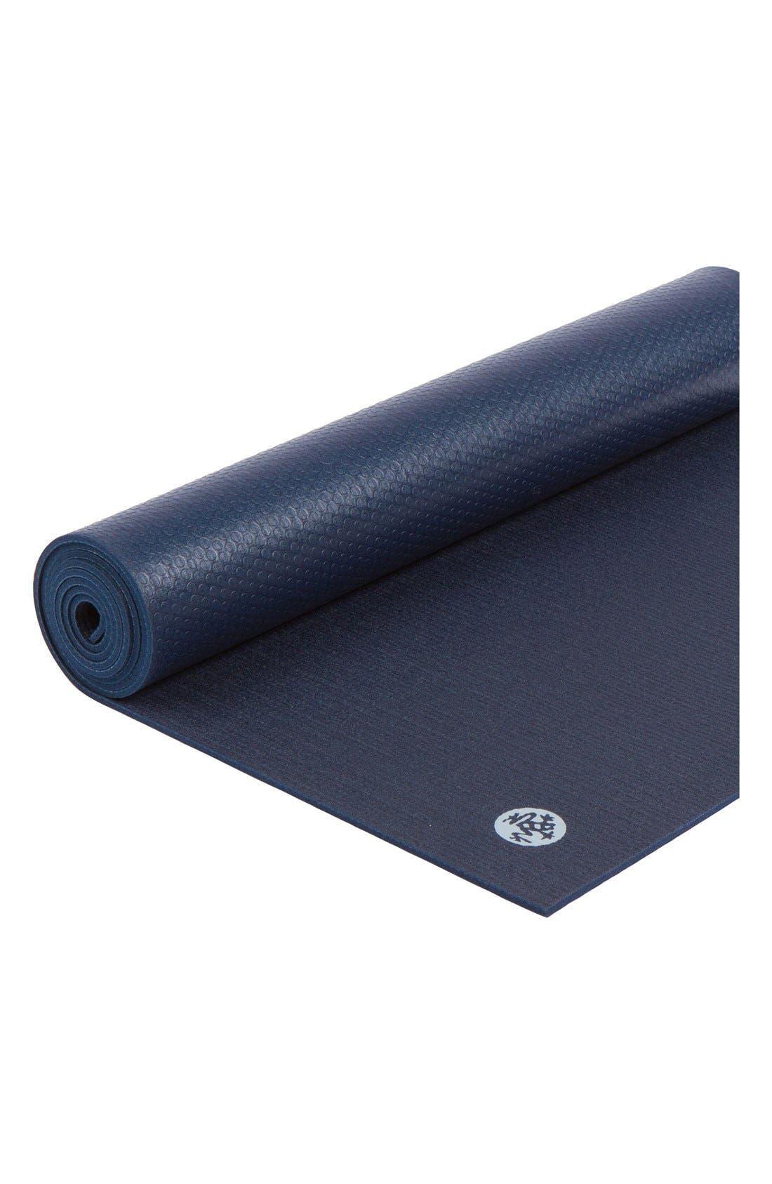 'ProLite' Yoga Mat,                             Alternate thumbnail 3, color,                             Midnight
