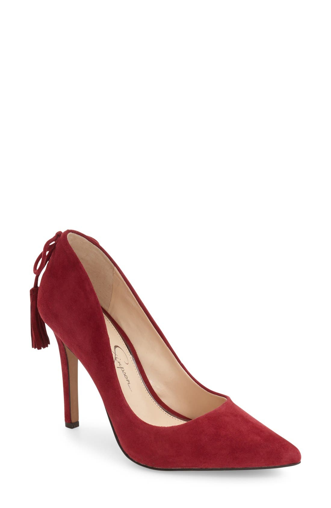 Alternate Image 1 Selected - Jessica Simpson Centella Pointy Toe Pump (Women)
