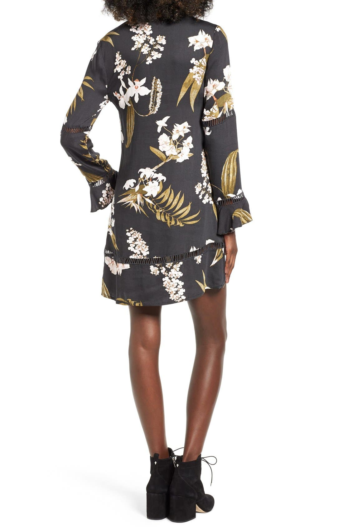 Alternate Image 2  - Somedays Lovin 'Sweet Light' Floral Print Shirtdress