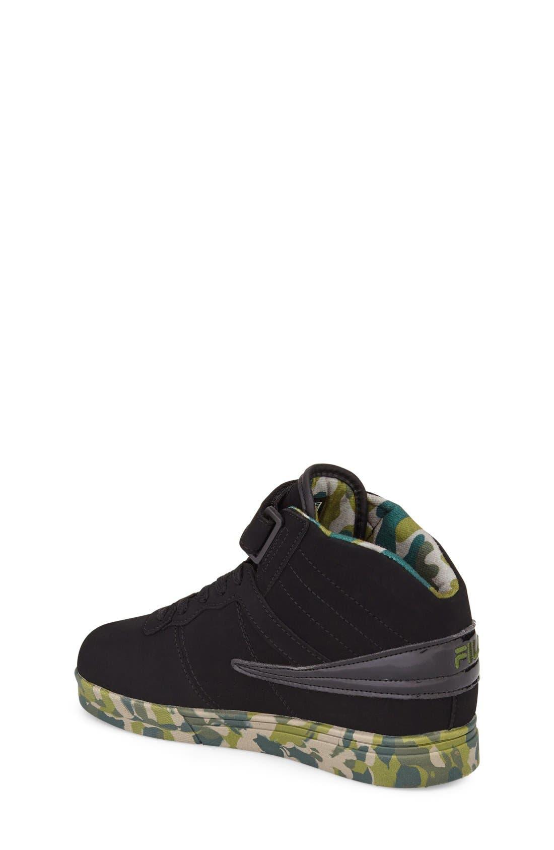 Alternate Image 2  - FILA Vulc 13 Mashup High Top Sneaker (Toddler, Little Kid & Big Kid)