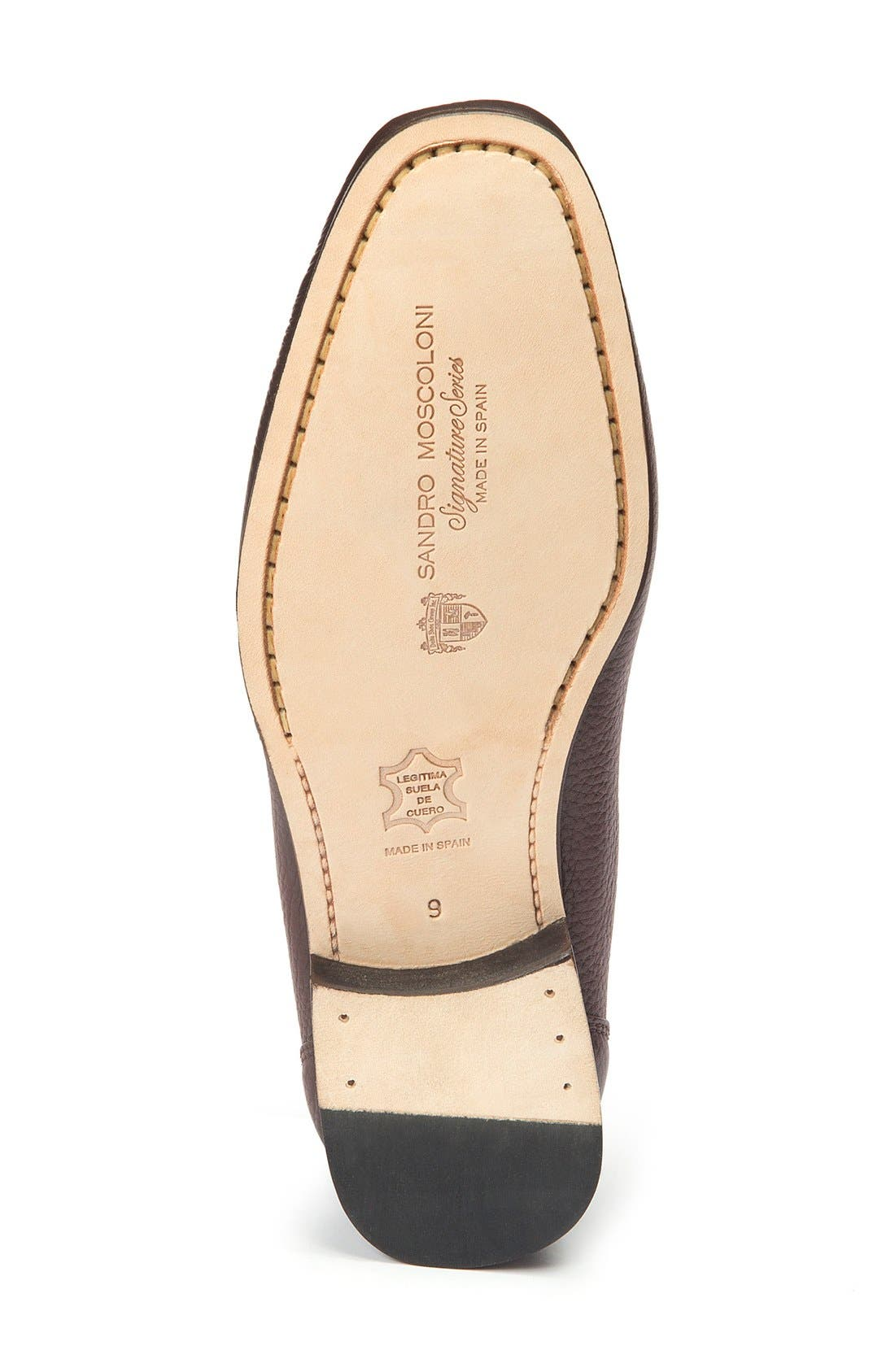 Alternate Image 4  - Sandro Moscoloni Segovia Penny Loafer (Men)