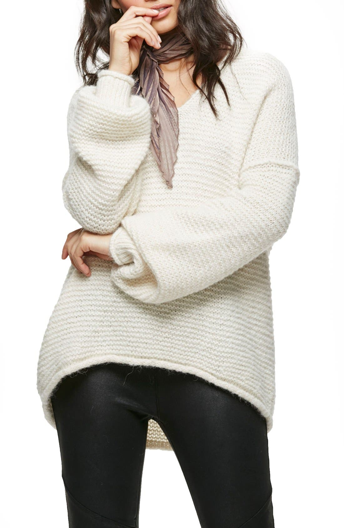 All Mine Sweater,                         Main,                         color, Ivory