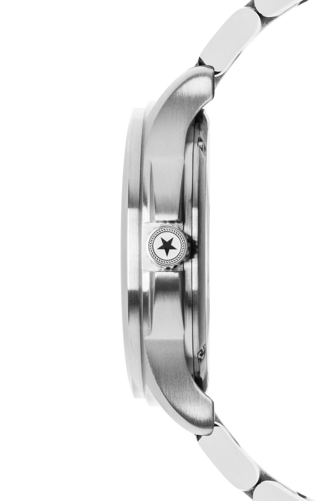 Alternate Image 3  - Jack Mason Field Bracelet Watch, 42mm