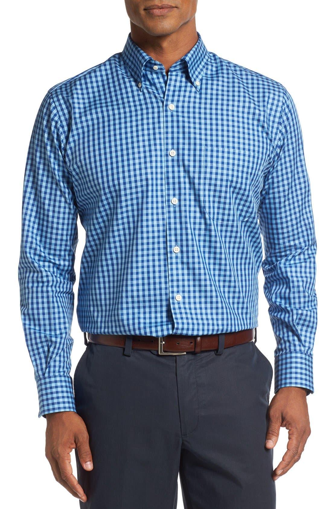 Peter Millar Regular FIt Check Sport Shirt