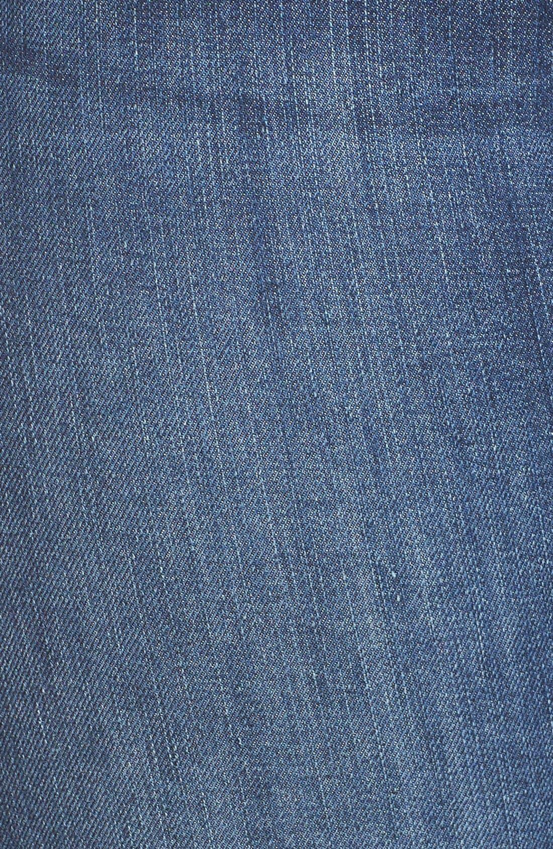 Alternate Image 10  - Good American Good Legs High Rise Skinny Jeans (Blue 004)