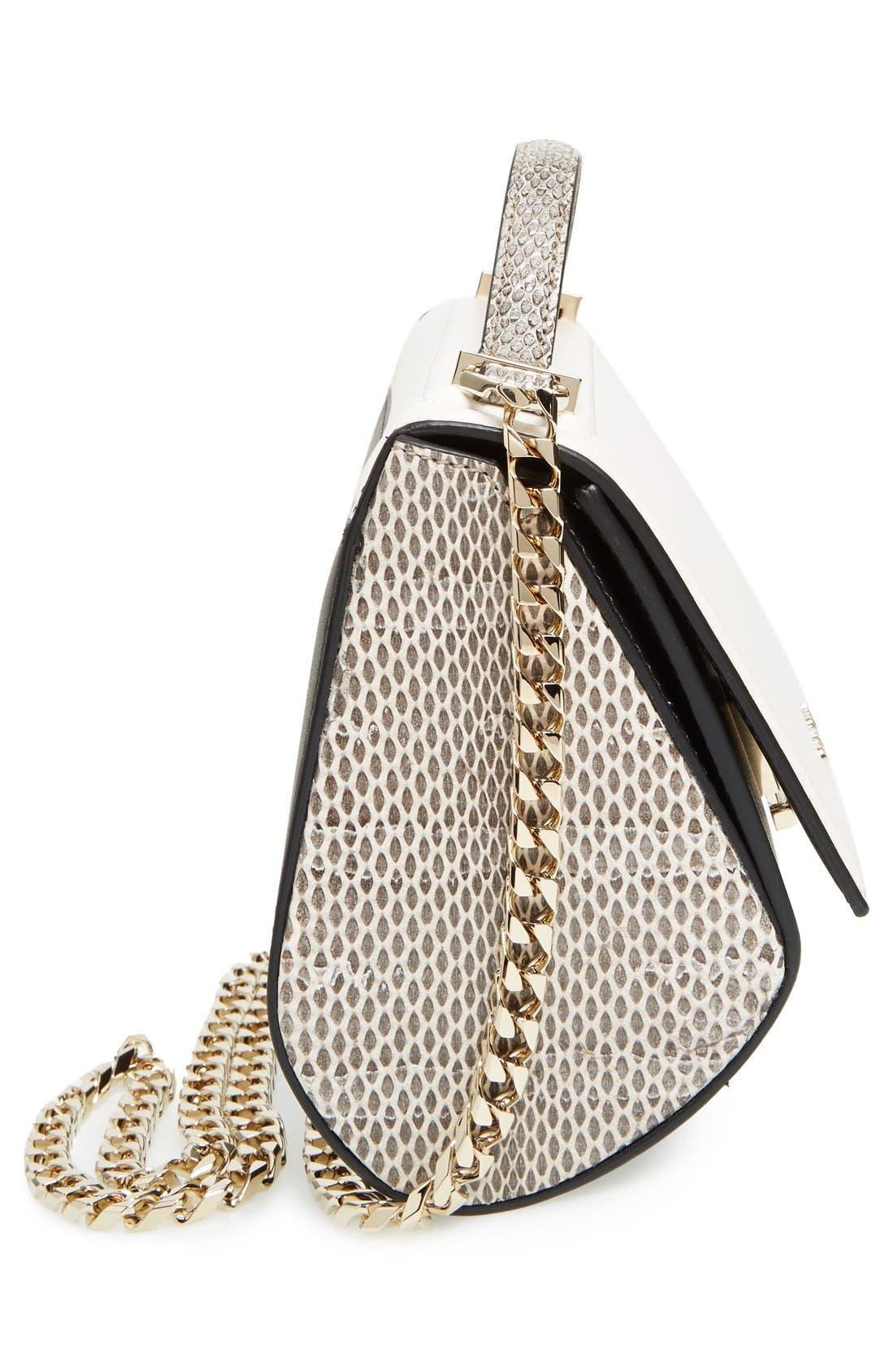 Alternate Image 4  - Givenchy Pandora Box Genuine Snakeskin Crossbody Bag
