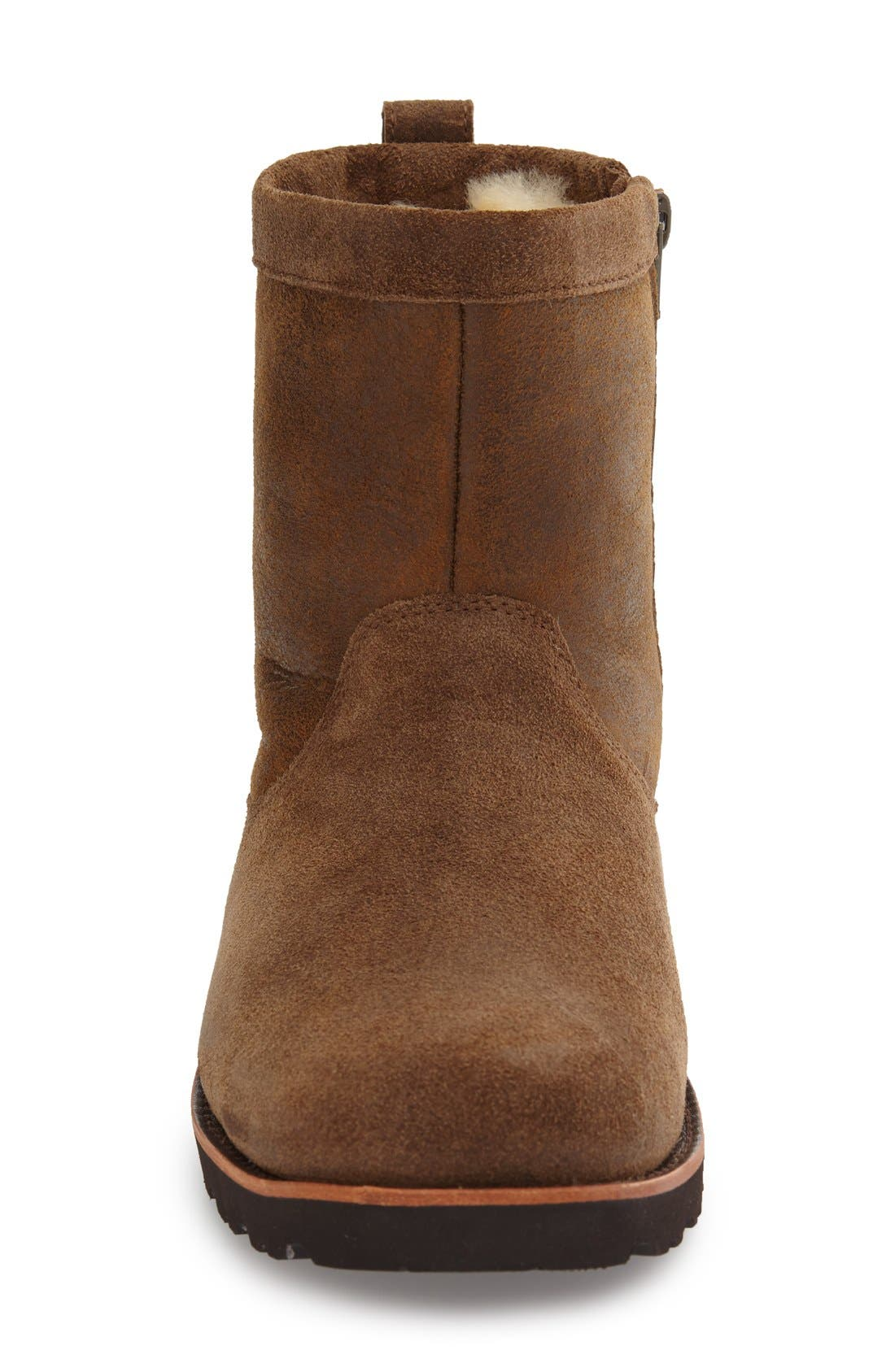 Alternate Image 3  - UGG Hendren Bomber Zip Boot (Men)