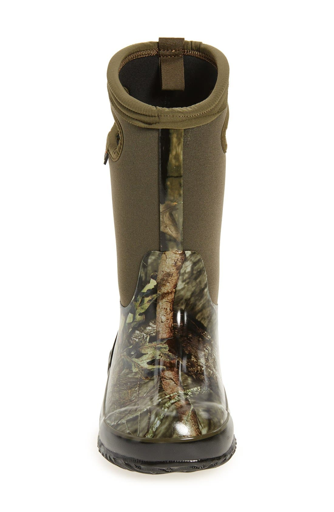 Classic Camo Insulated Waterproof Boot,                             Alternate thumbnail 3, color,                             Mossy Oak