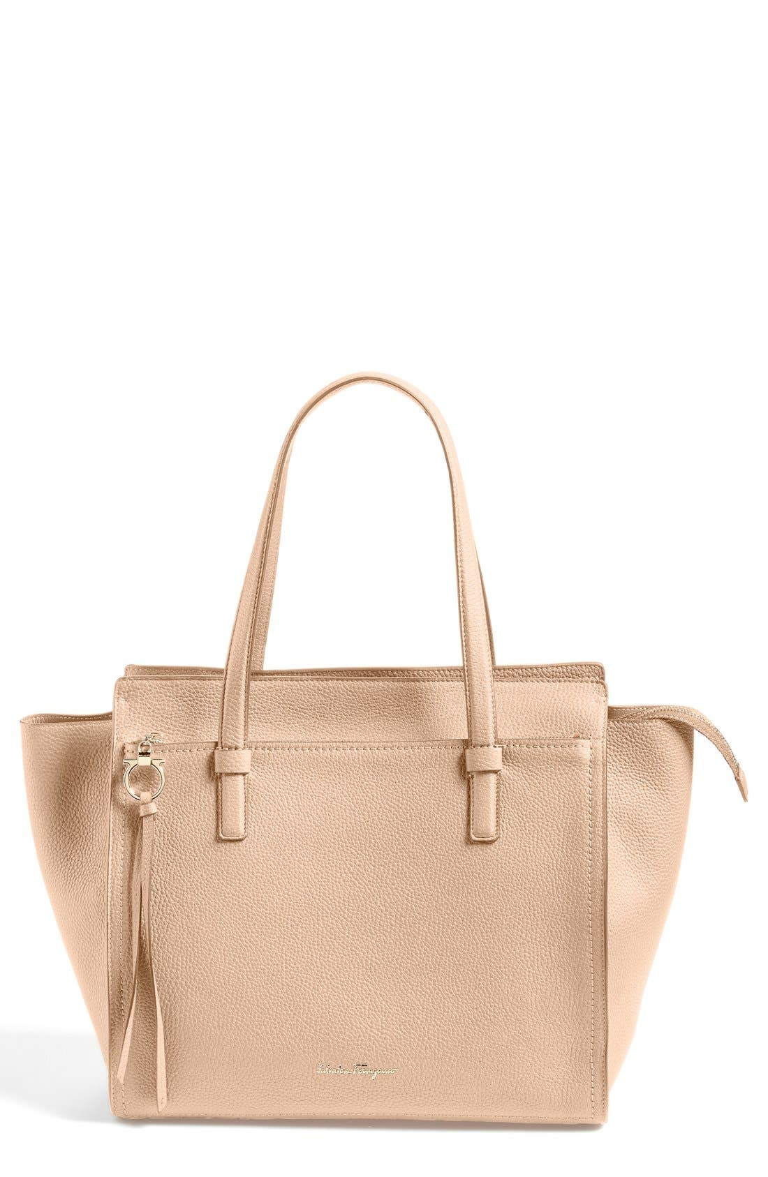 Salvatore Ferragamo Leather Tote