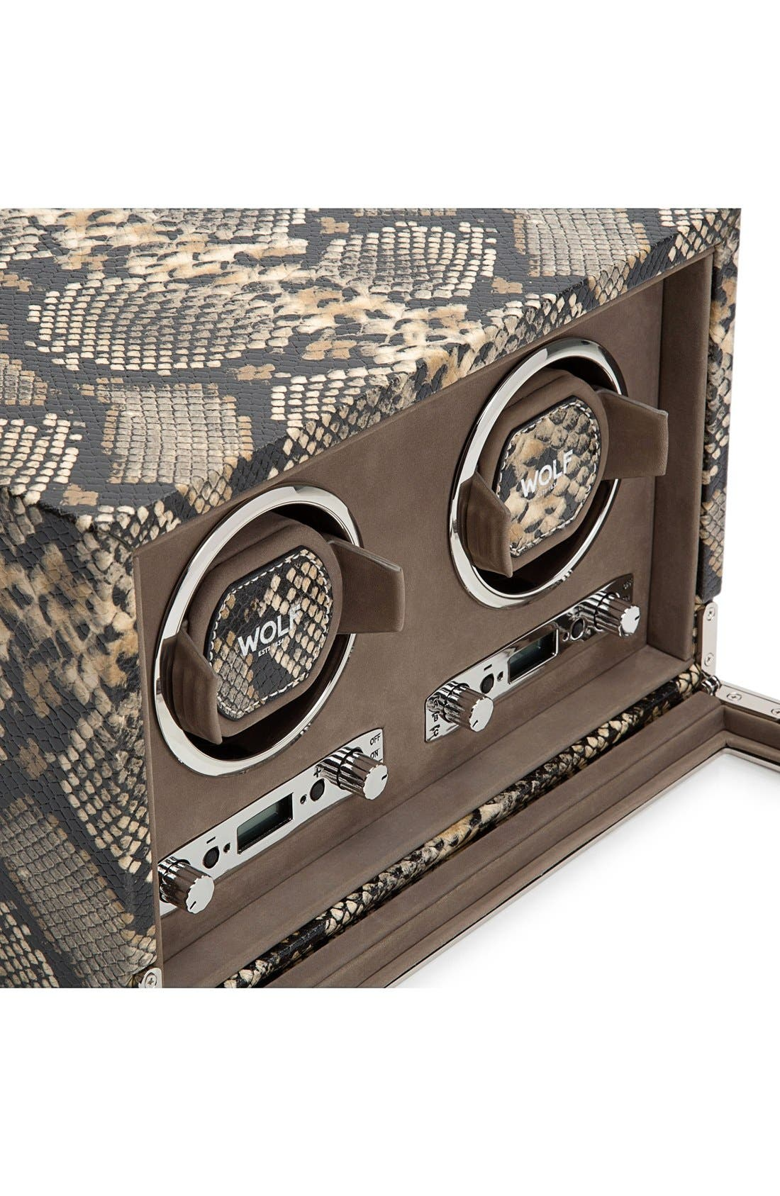 Alternate Image 5  - Wolf Exotic Double Watch Winder