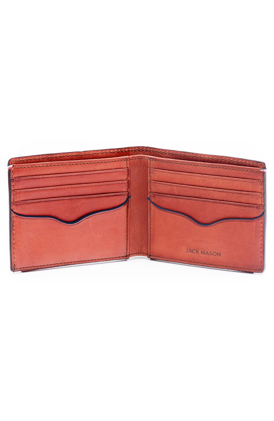 Alternate Image 2  - Jack Mason Pebbled Leather Wallet
