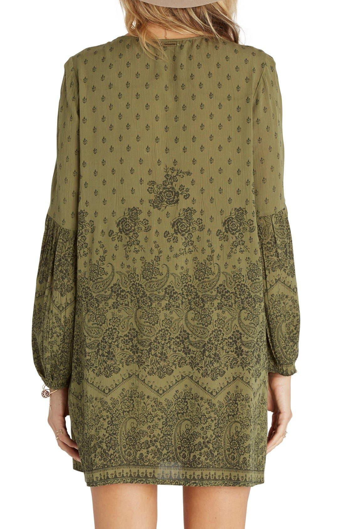 Alternate Image 2  - Billabong Just Like You Print Peasant Dress