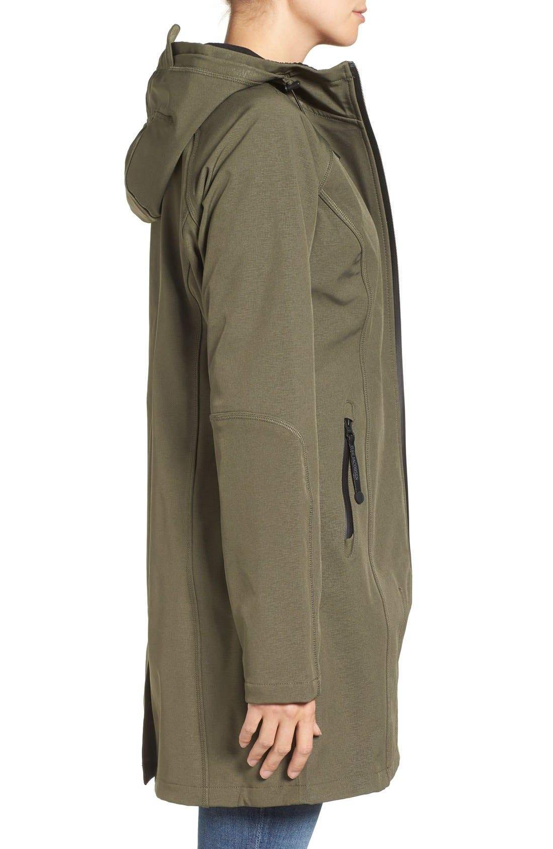 Alternate Image 3  - Ilse Jacobsen Regular Fit Hooded Raincoat
