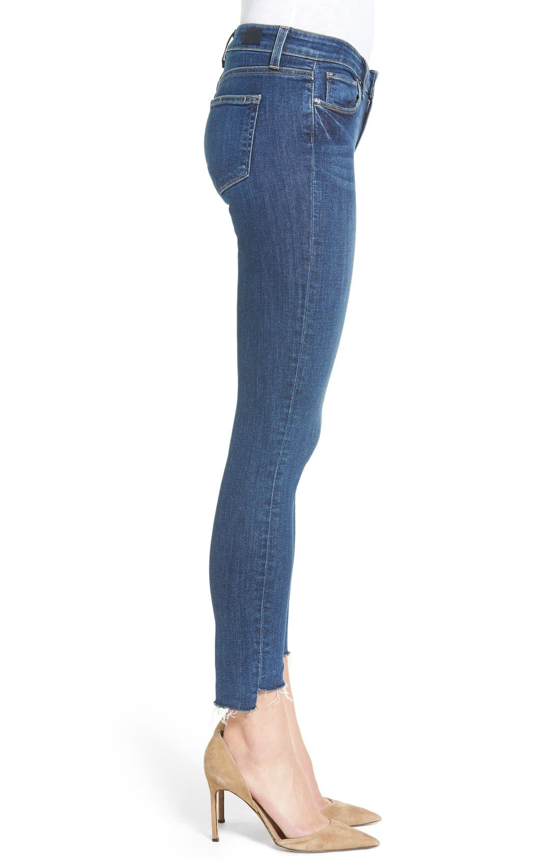 Legacy - Verdugo Step Hem Skinny Jeans,                             Alternate thumbnail 4, color,                             Lane