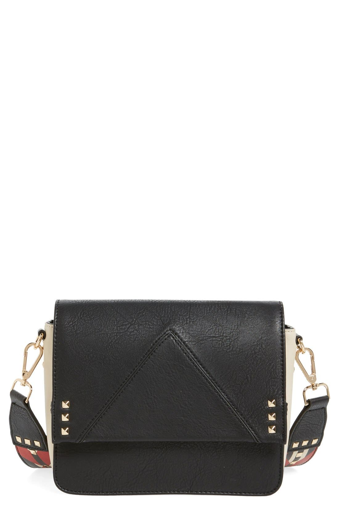 Alternate Image 1 Selected - Steve Madden BScout Statement Strap Shoulder Bag