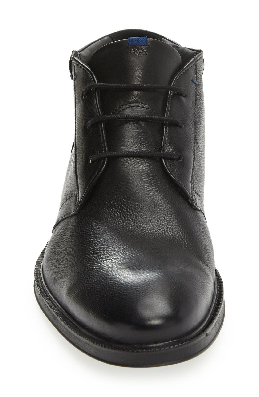 Marik Chukka Boot,                             Alternate thumbnail 3, color,                             Black