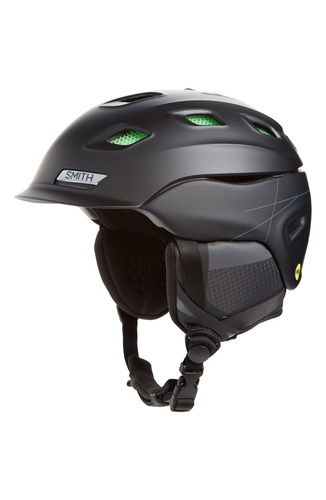 Vantage Snow Helmet with MIPS,                         Main,                         color, Matte Black