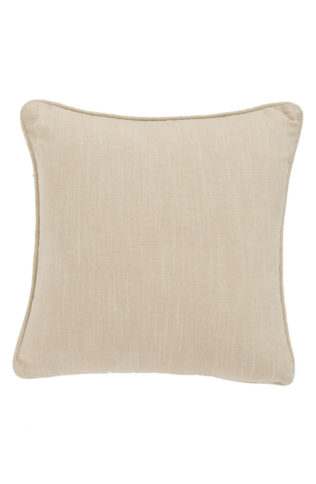 'Lona' Sequin Accent Pillow,                             Alternate thumbnail 2, color,                             Pink/ White/ Silver