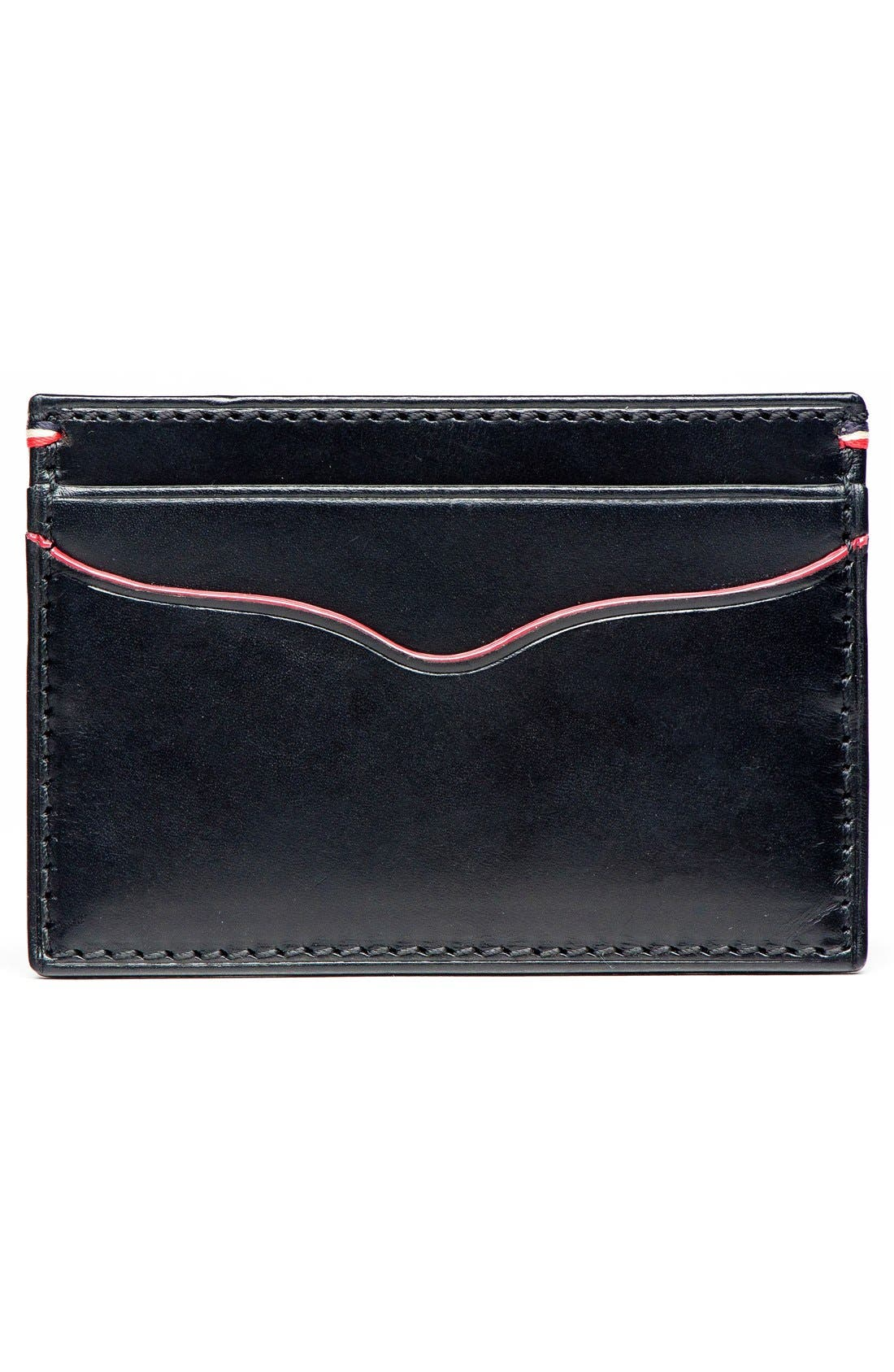 Alternate Image 2  - Jack Mason Vacchetta Lux Leather Card Case