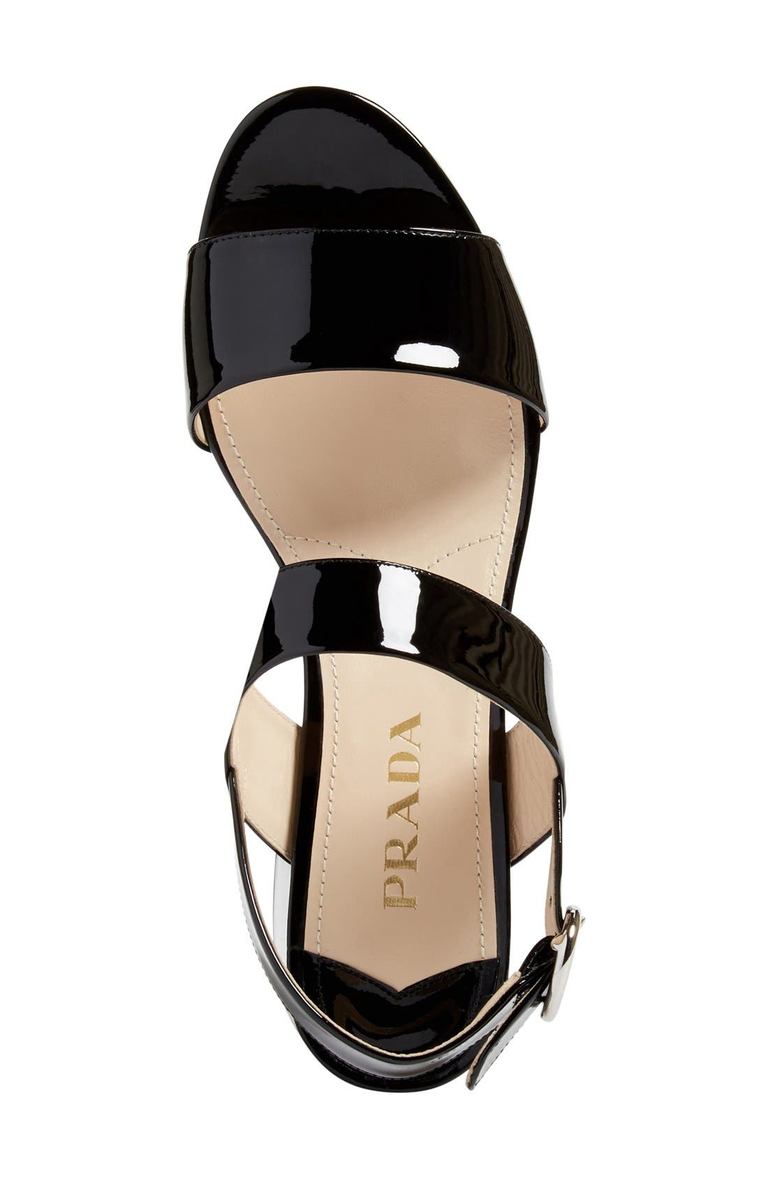 Alternate Image 3  - Prada Slingback Platform Sandal (Women)