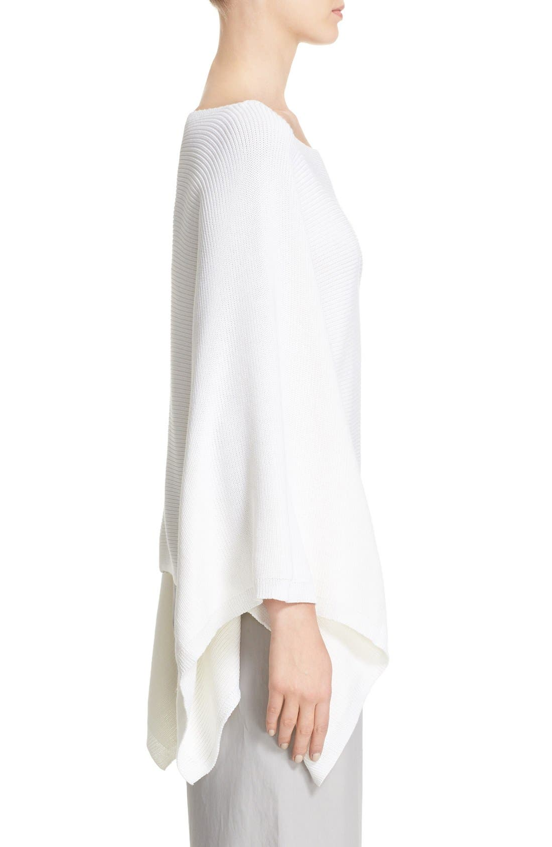 Alternate Image 5  - Lafayette 148 New York Crop Silk & Cotton Kimono Sweater