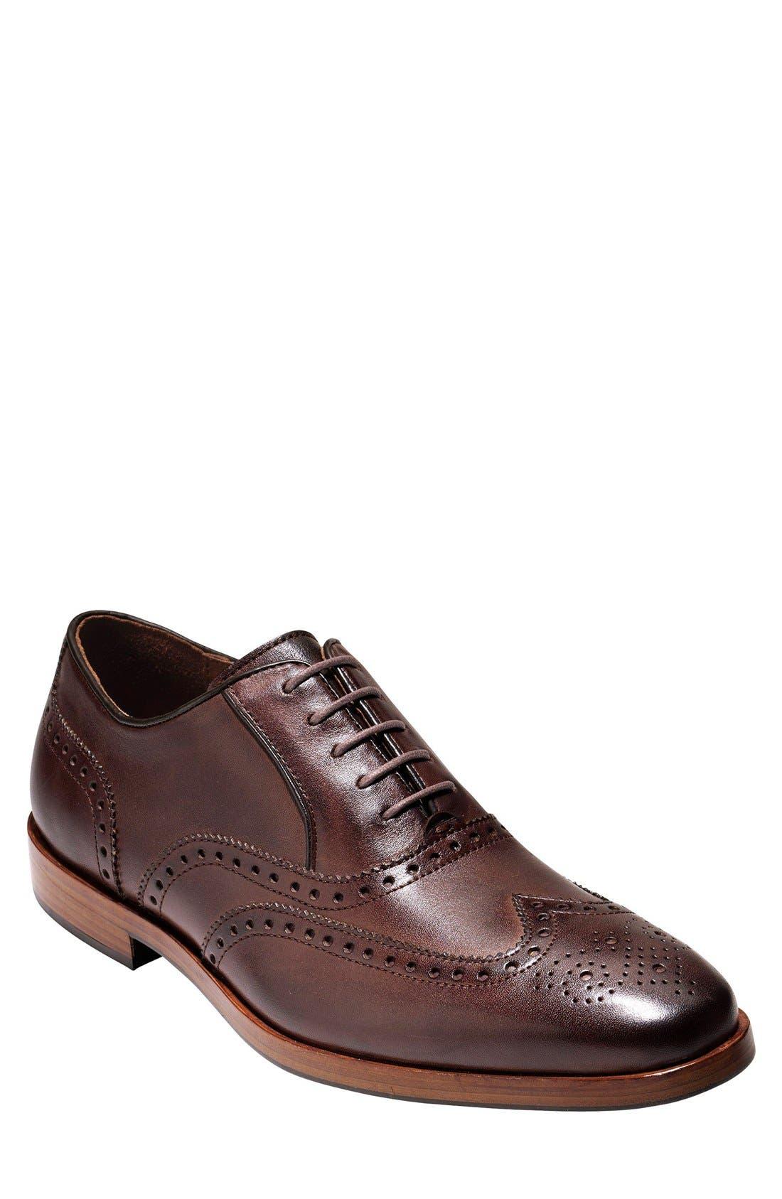 Hamilton Wingtip,                         Main,                         color, Dark Brown
