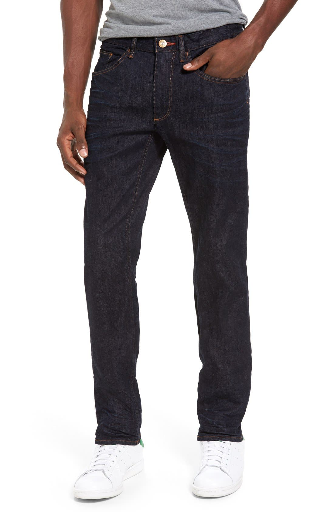Canal Slim Fit Jeans,                         Main,                         color, Indigo