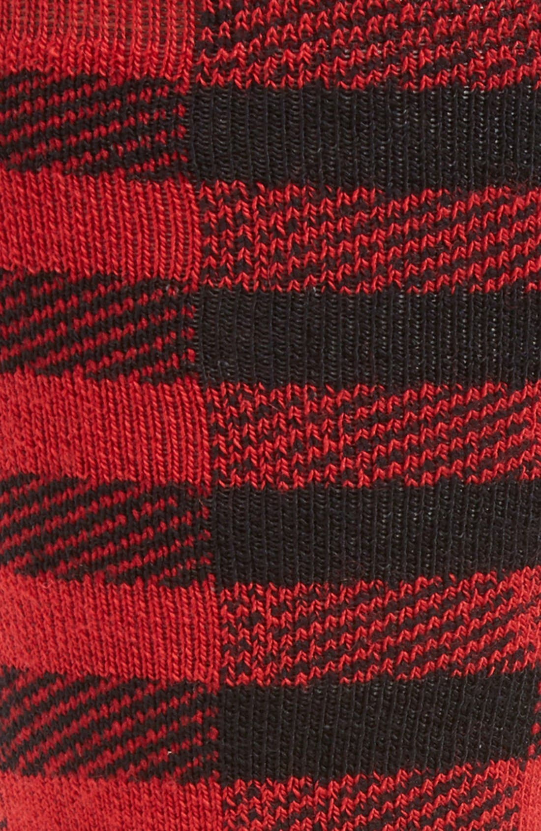 PhD<sup>®</sup> Slopestyle Light Ifrane Over the Calf Socks,                             Alternate thumbnail 2, color,                             Black/Red