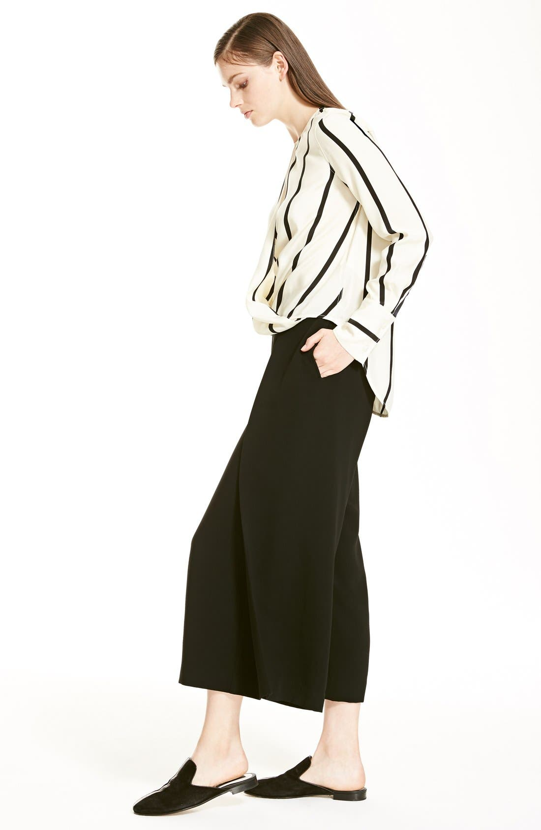 Alternate Image 2  - rag & bone 'Rowe' Pleat Crop Pants