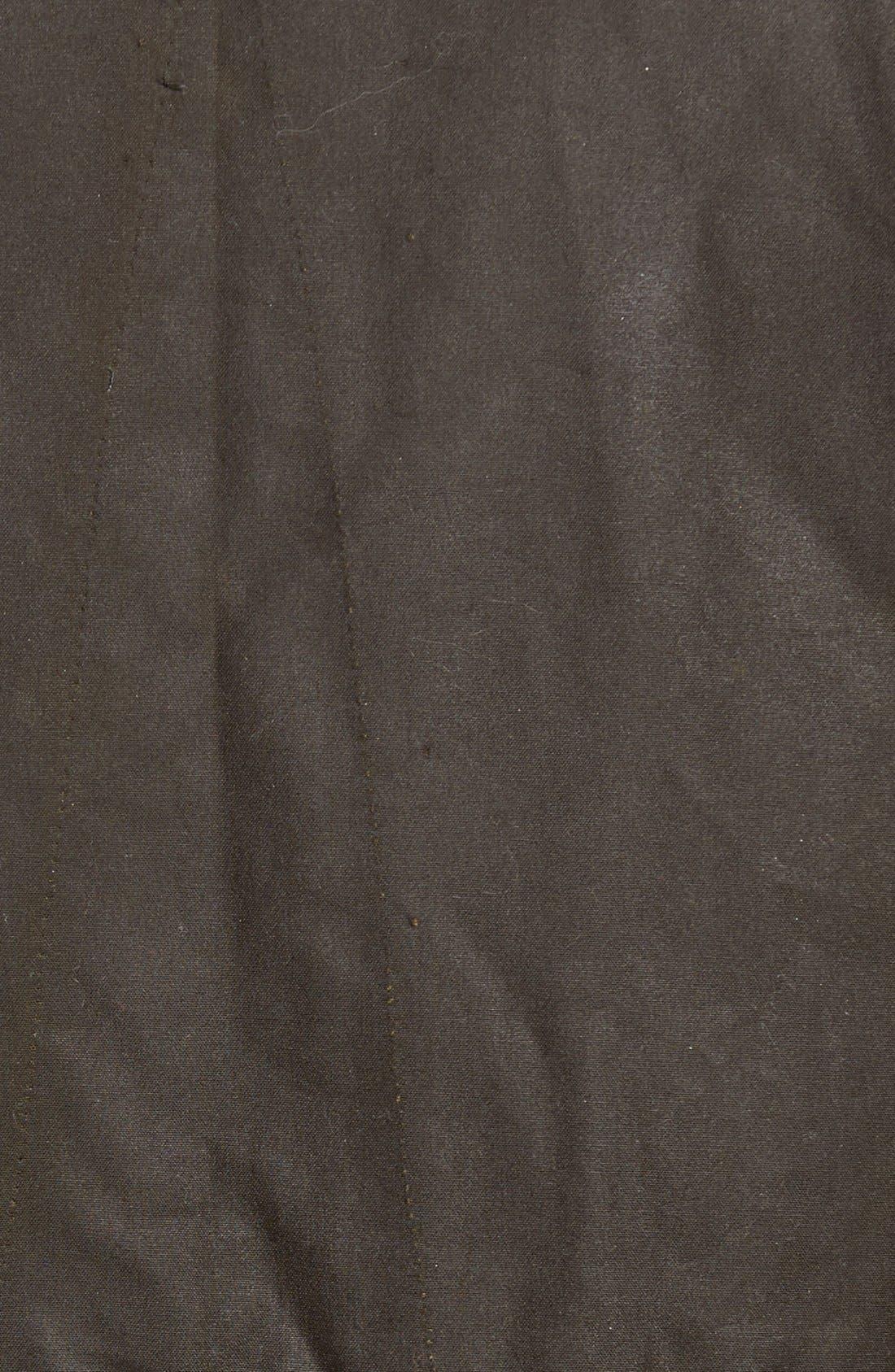 Alternate Image 5  - Barbour 'Sapper' Regular Fit Waterproof Waxed Cotton Jacket