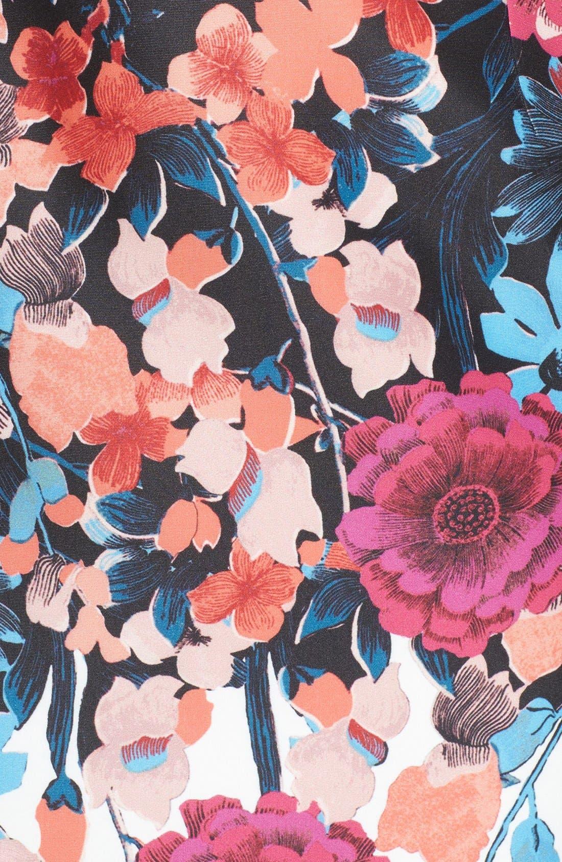 Alternate Image 5  - Adrianna Papell Scuba Midi Dress