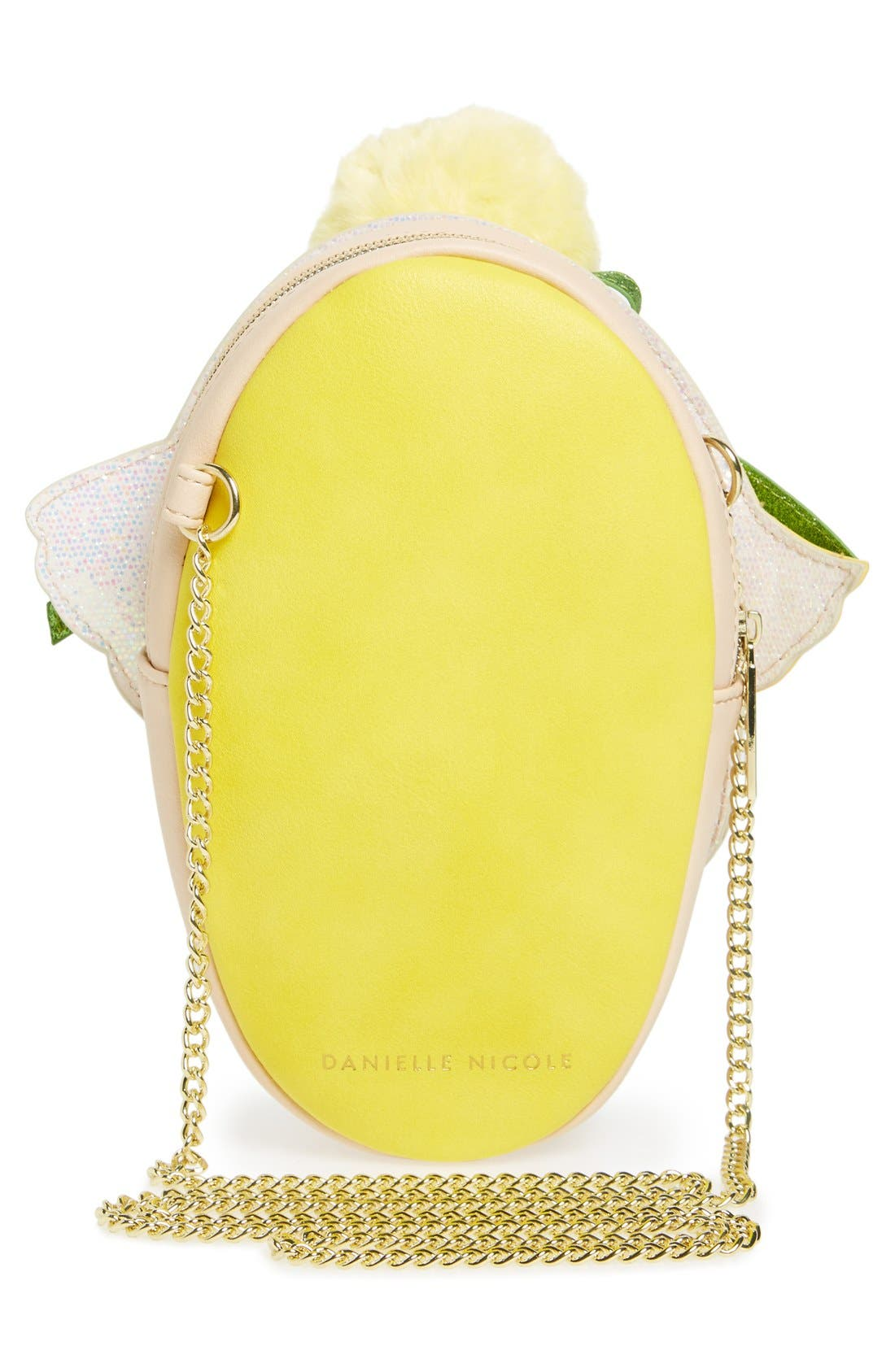 Alternate Image 2  - Danielle Nicole x Disney® Tinker Bell Faux Leather Crossbody Bag
