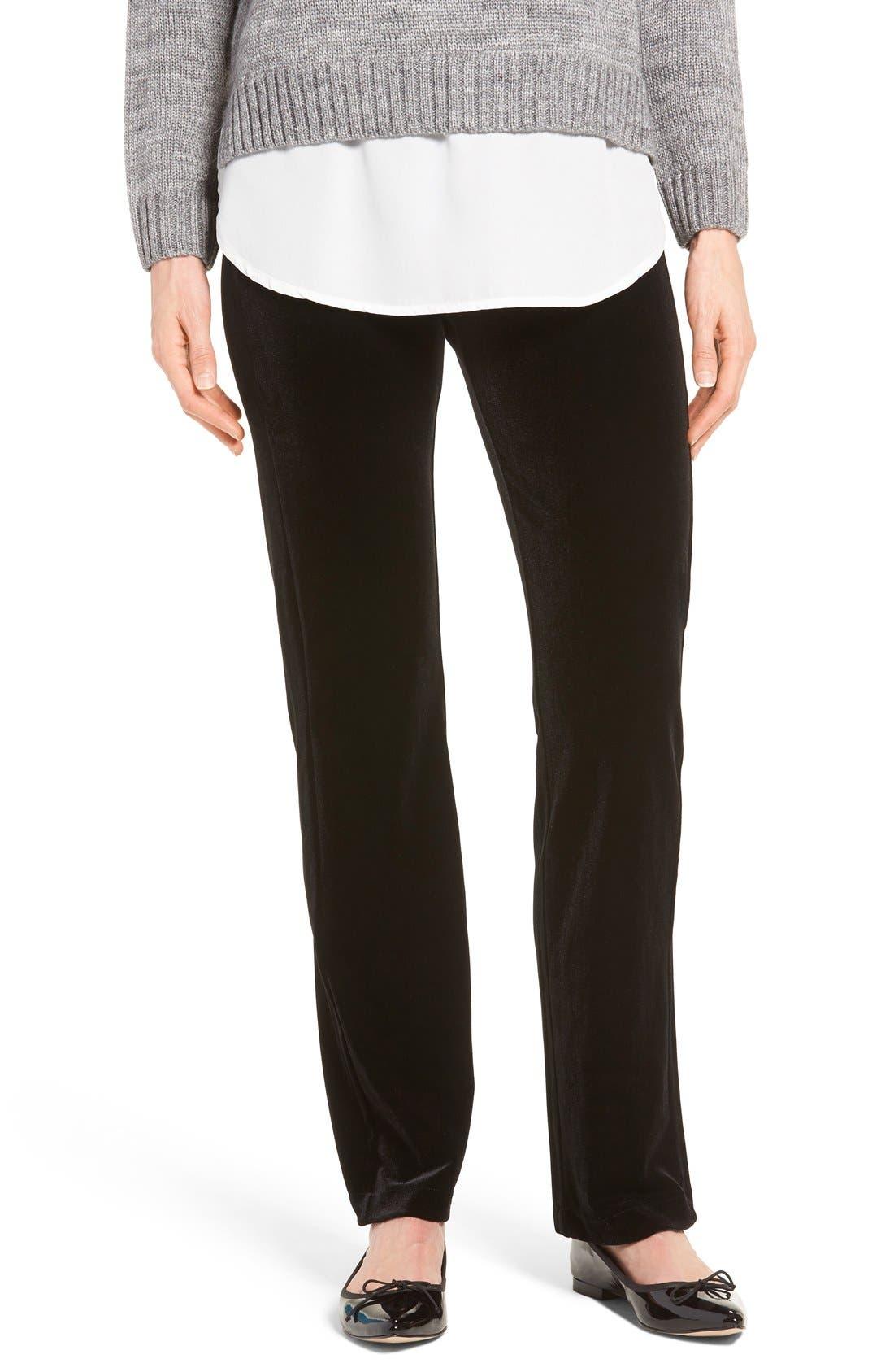Alternate Image 1 Selected - Lyssé Velvet Pants