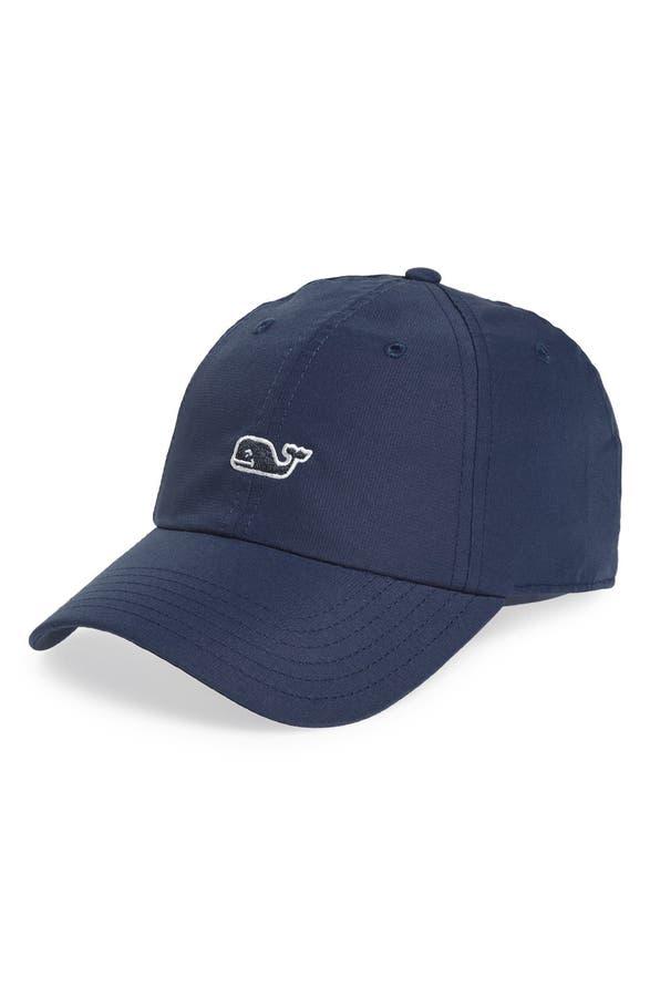 vineyard vines navy baseball hat sale flamingo cap main image whale performance