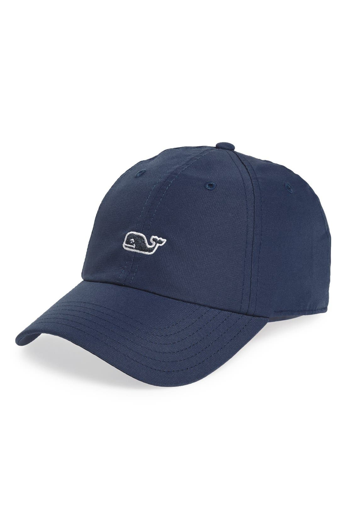 vineyard vines Whale Performance Baseball Cap