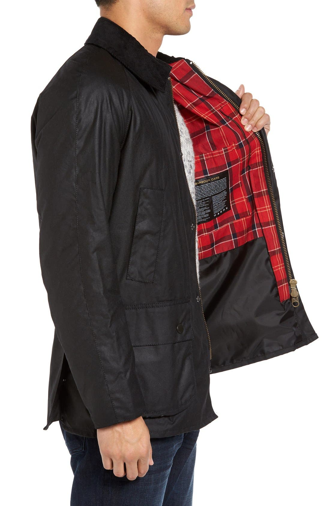Alternate Image 3  - Barbour Ashby Wax Jacket
