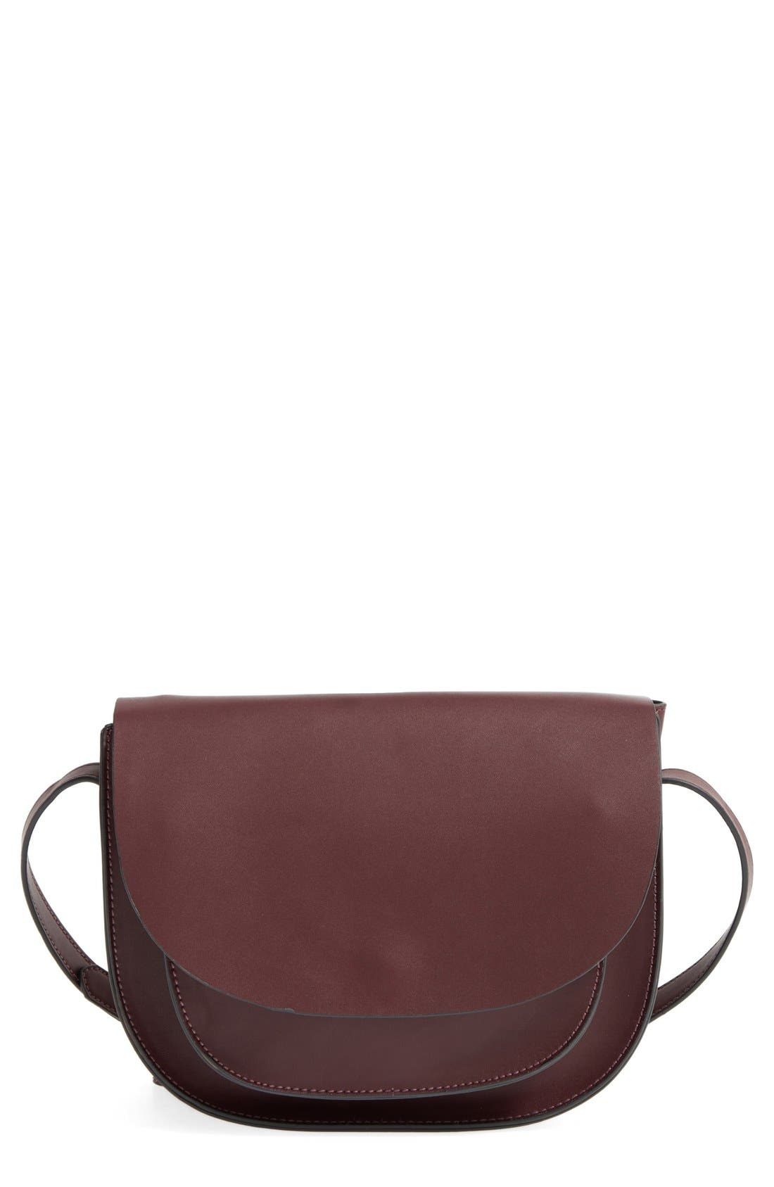 Main Image - Sole Society Claire Faux Leather Crossbody Bag
