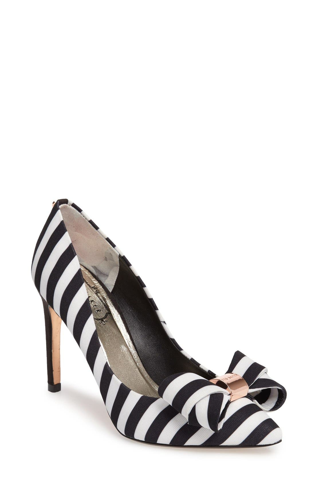 Alternate Image 1 Selected - Ted Baker London 'Ichlibi' Bow Pump (Women)